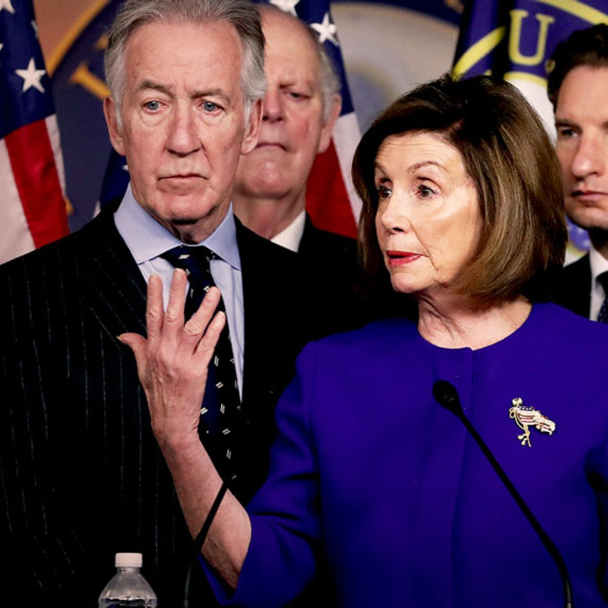 Don't panic! Yeah, Pelosi struck a trade deal with Trump. That's just smart politics