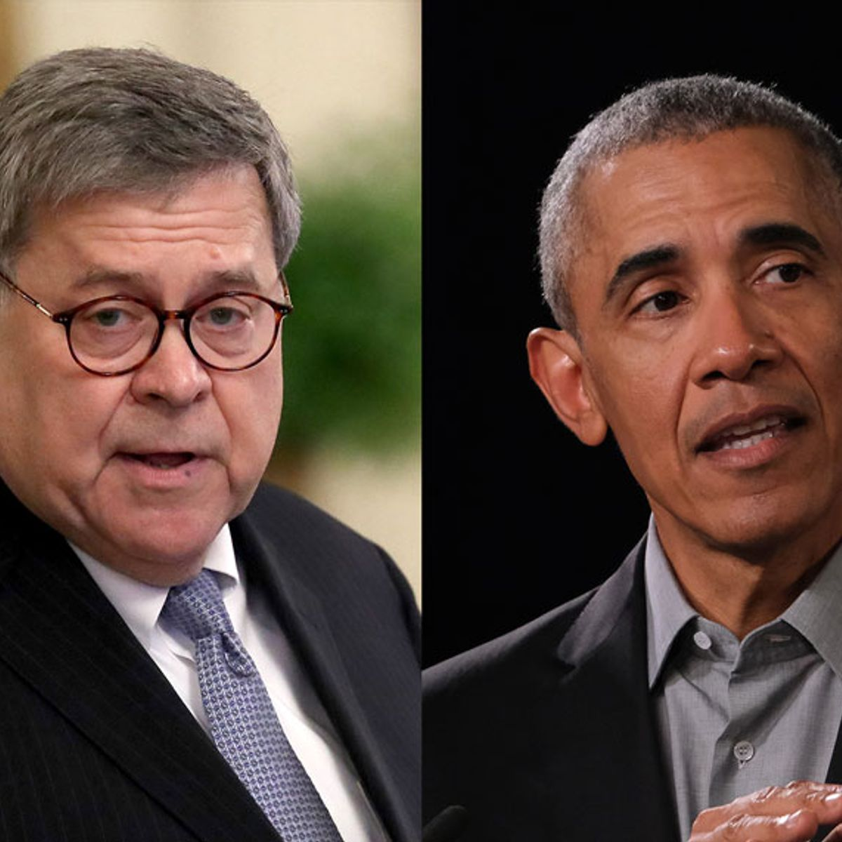 "William Barr claims that Barack Obama posed the ""greatest danger"" to democracy in 2016 — not Russia"