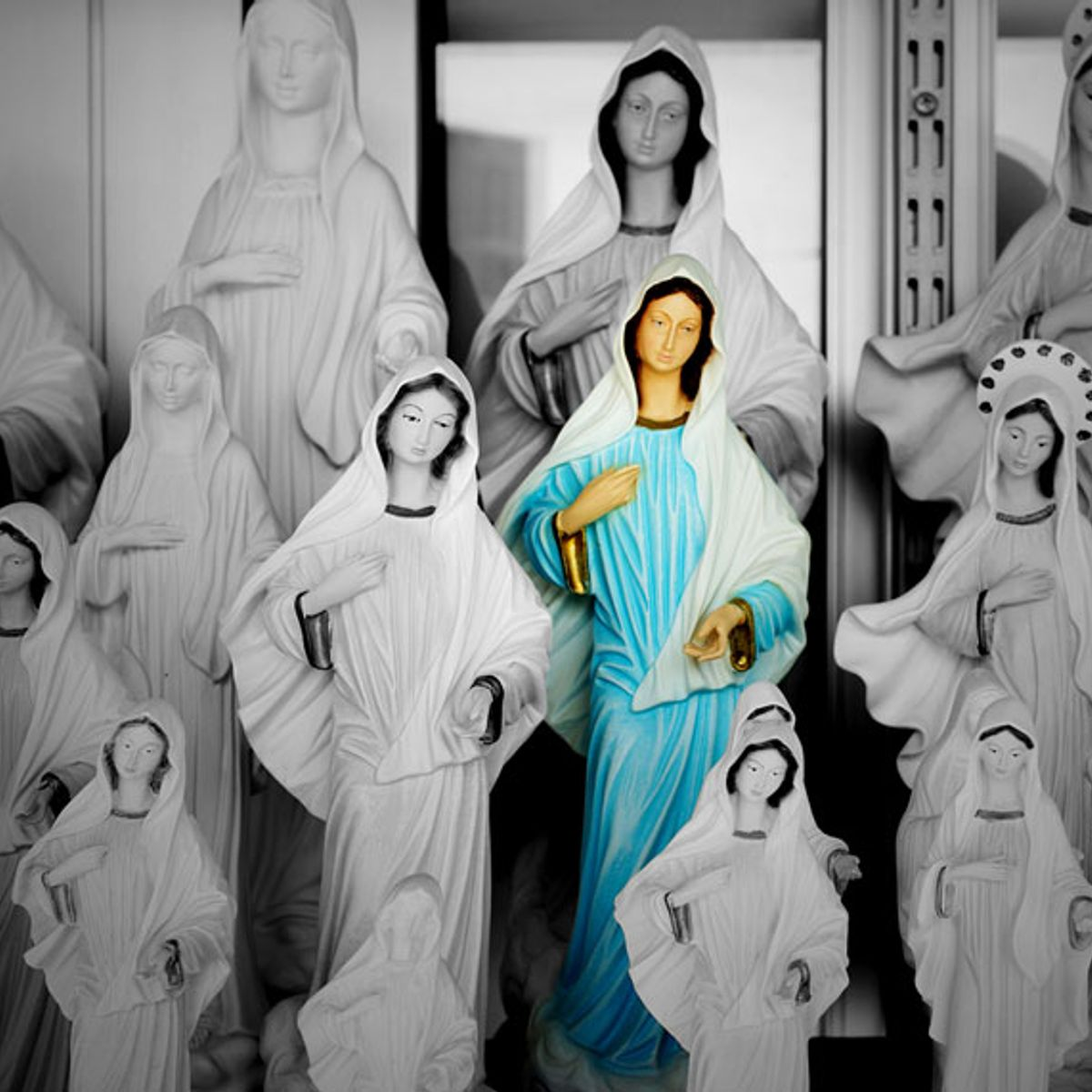 My obsessive quest to solve the mystery of a missing Virgin Mary