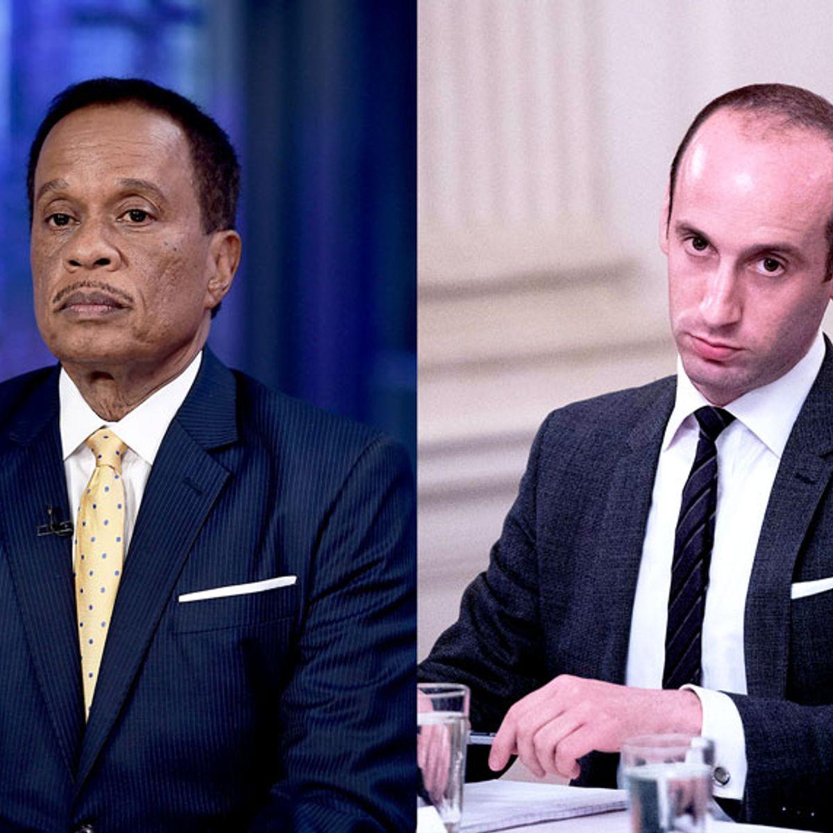 Fox News host Juan Williams calls on President Trump to fire Stephen Miller