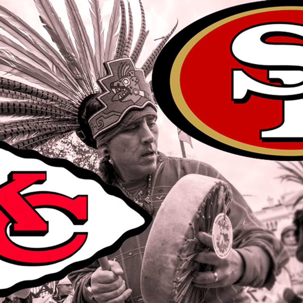 Both Super Bowl LIV team names are pretty racist — Kansas City Chiefs and San Francisco 49ers