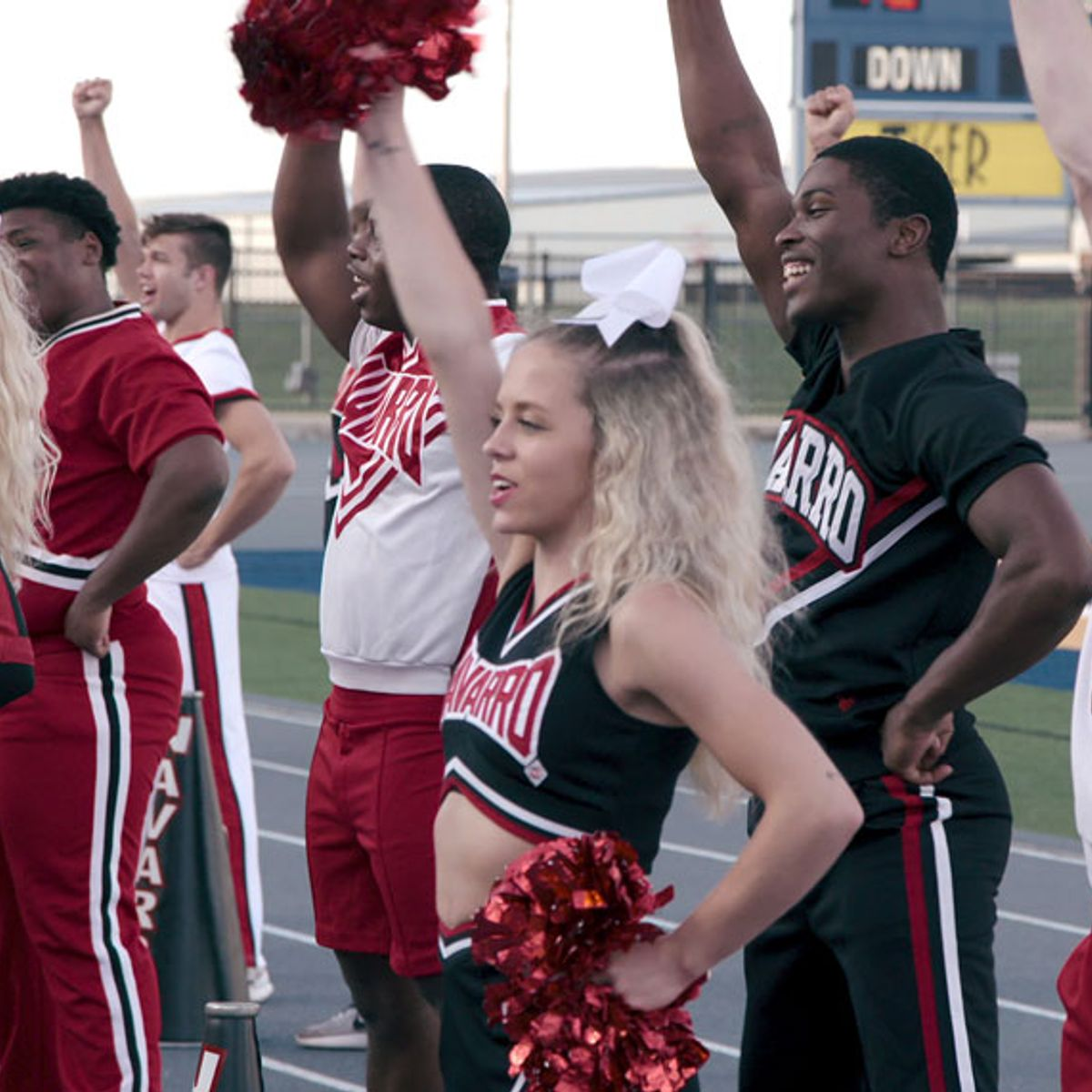 "Netflix's ""Cheer"" director: Cheerleaders are ""the toughest athletes I've ever filmed"""