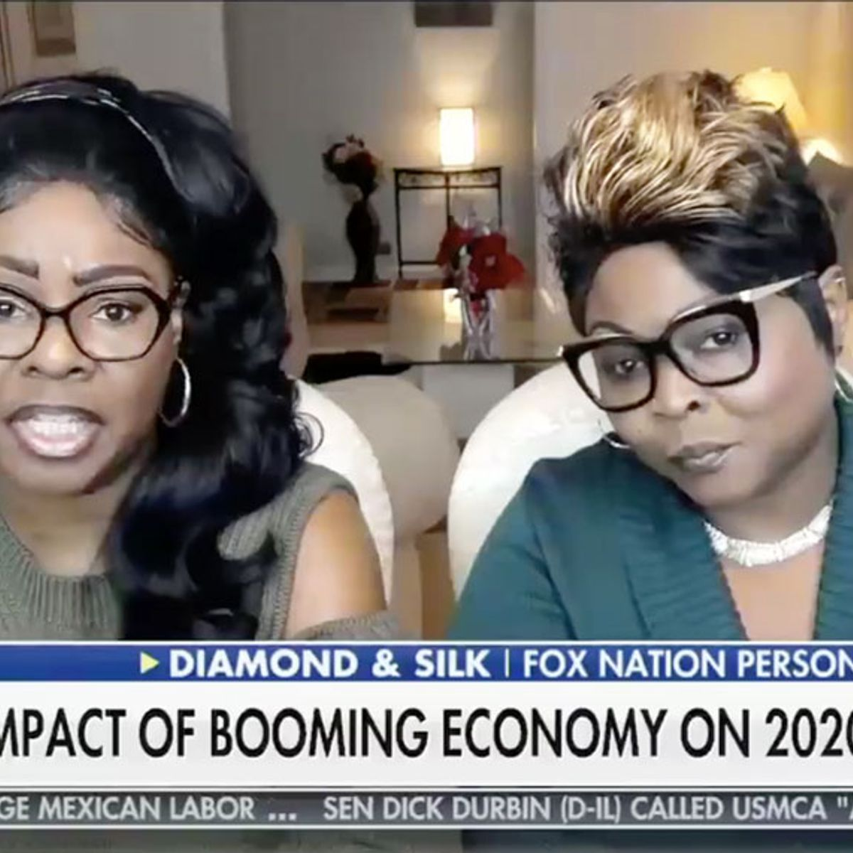 "Diamond & Silk accuse Democrats of using Jim Crow tactics on Trump during ""Fox & Friends"" appearance"