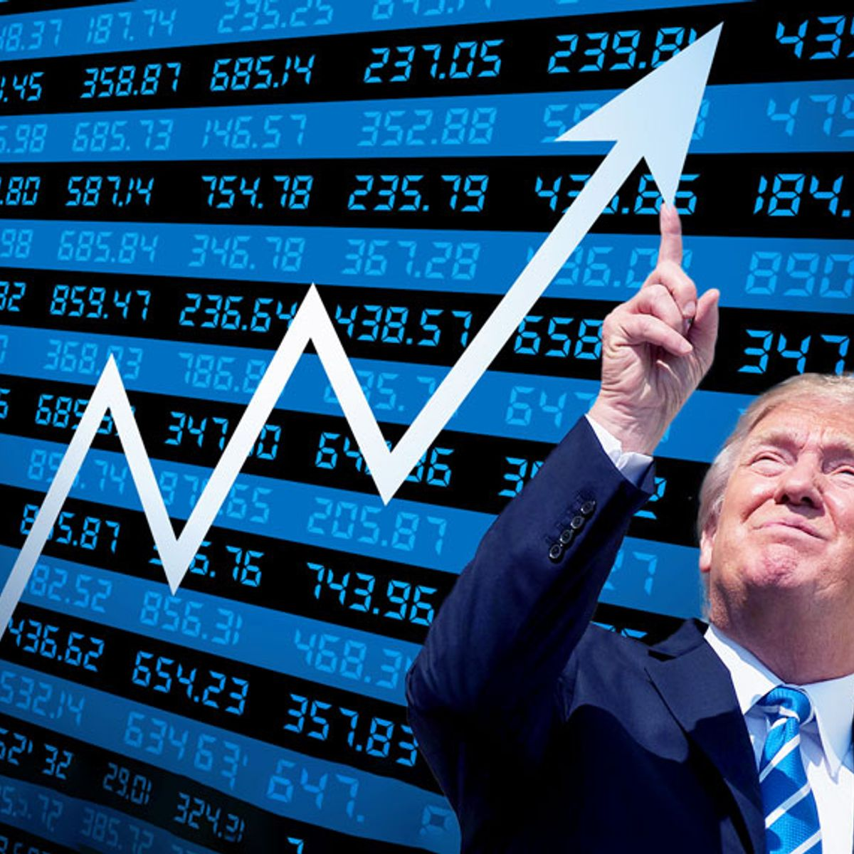 Are Trump and his circle manipulating the markets for personal gain? Here's the evidence