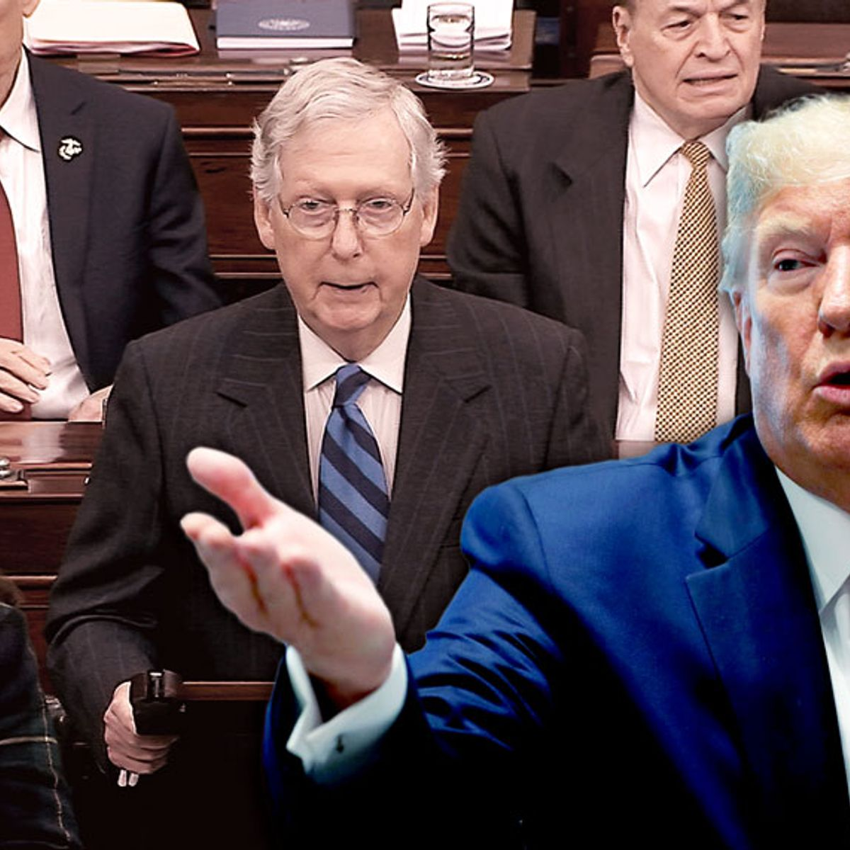 Trump's final impeachment strategy: Throw Mitch McConnell under the bus