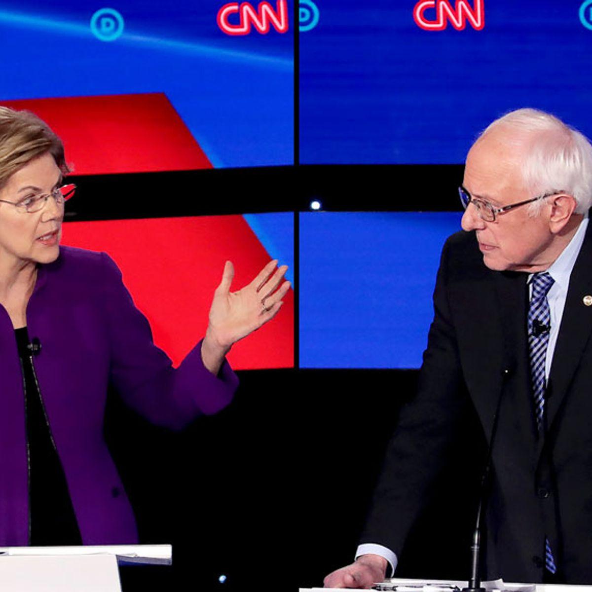 Elizabeth Warren, Bernie Sanders engage in soul-sapping fireworks at Iowa debate: Who benefits?