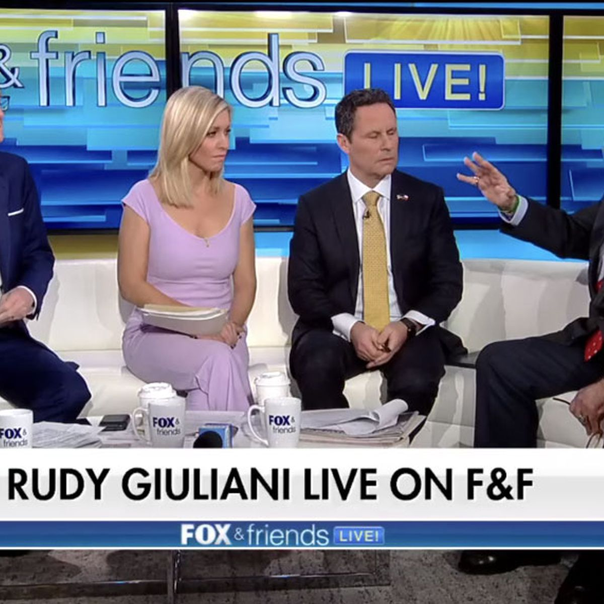 "Ainsley Earhardt to Geraldo Rivera: ""Fox & Friends"" audience does not think Giuliani is ""diminished"""