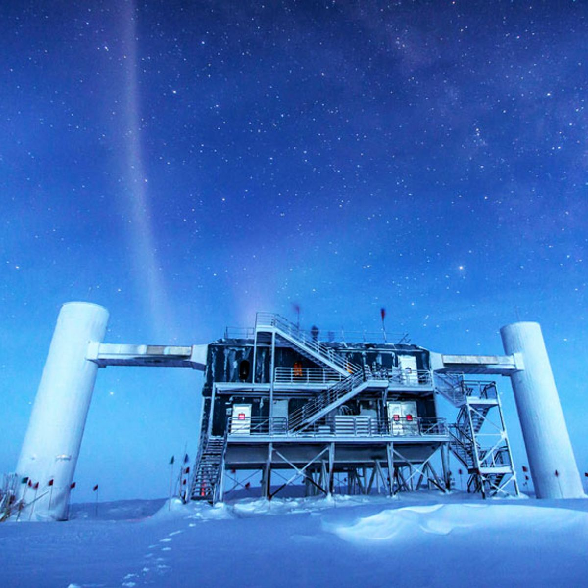 Bizarre neutrinos detected in Antarctica could open the door to new physics discoveries