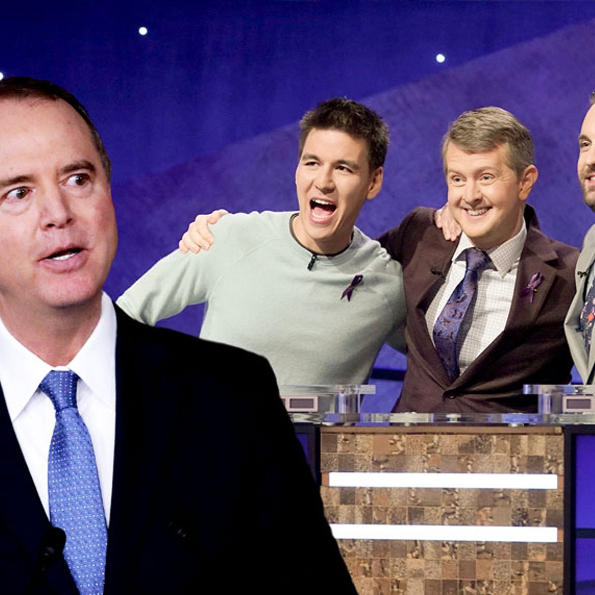 "Contestants on ""Jeopardy!"" can't identify Rep. Adam Schiff"