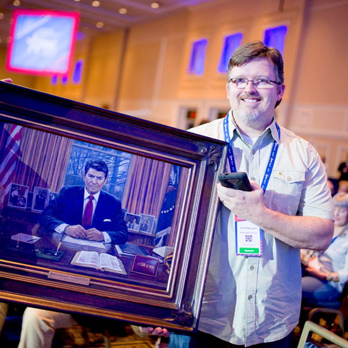 "Trump propaganda painter Jon McNaughton: ""Greatest"" artist of our time?"