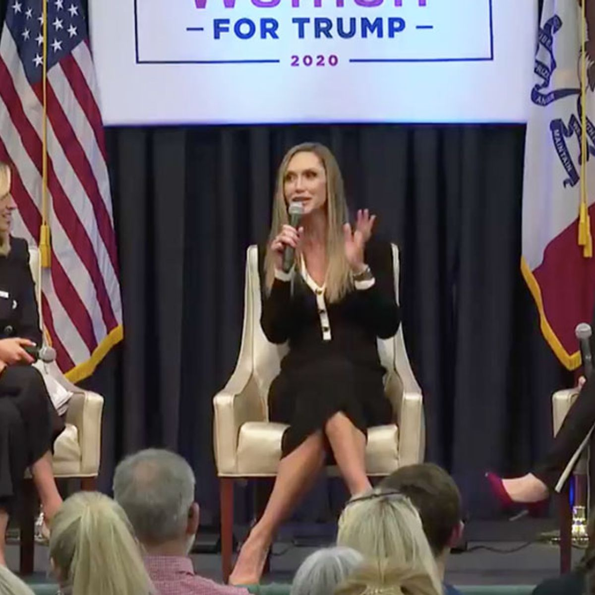 "Lara Trump appears to mock Biden's stutter at campaign event: ""Let's get the words out, Joe"""