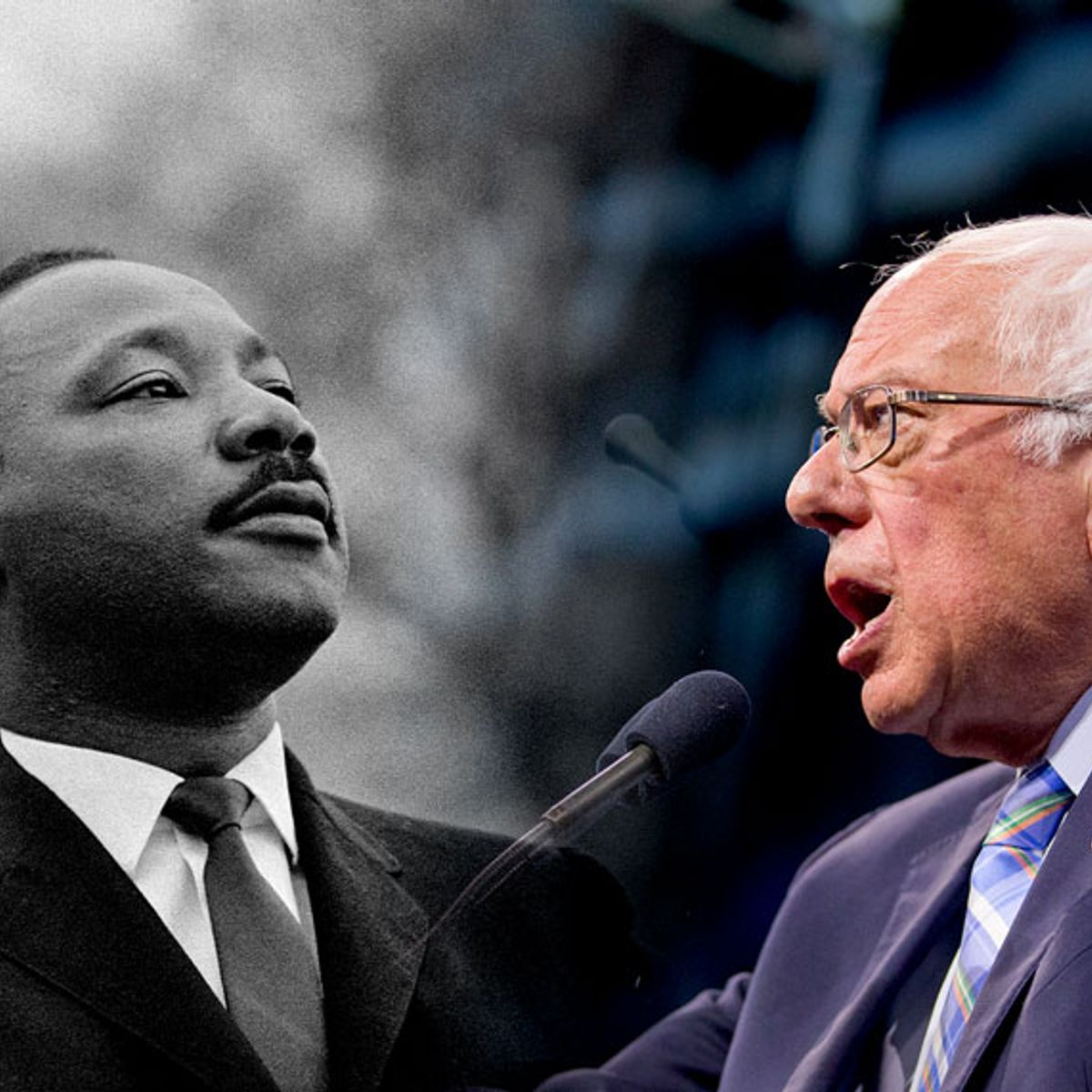 Martin Luther King Jr.'s vision of economic justice: A lot like Bernie Sanders