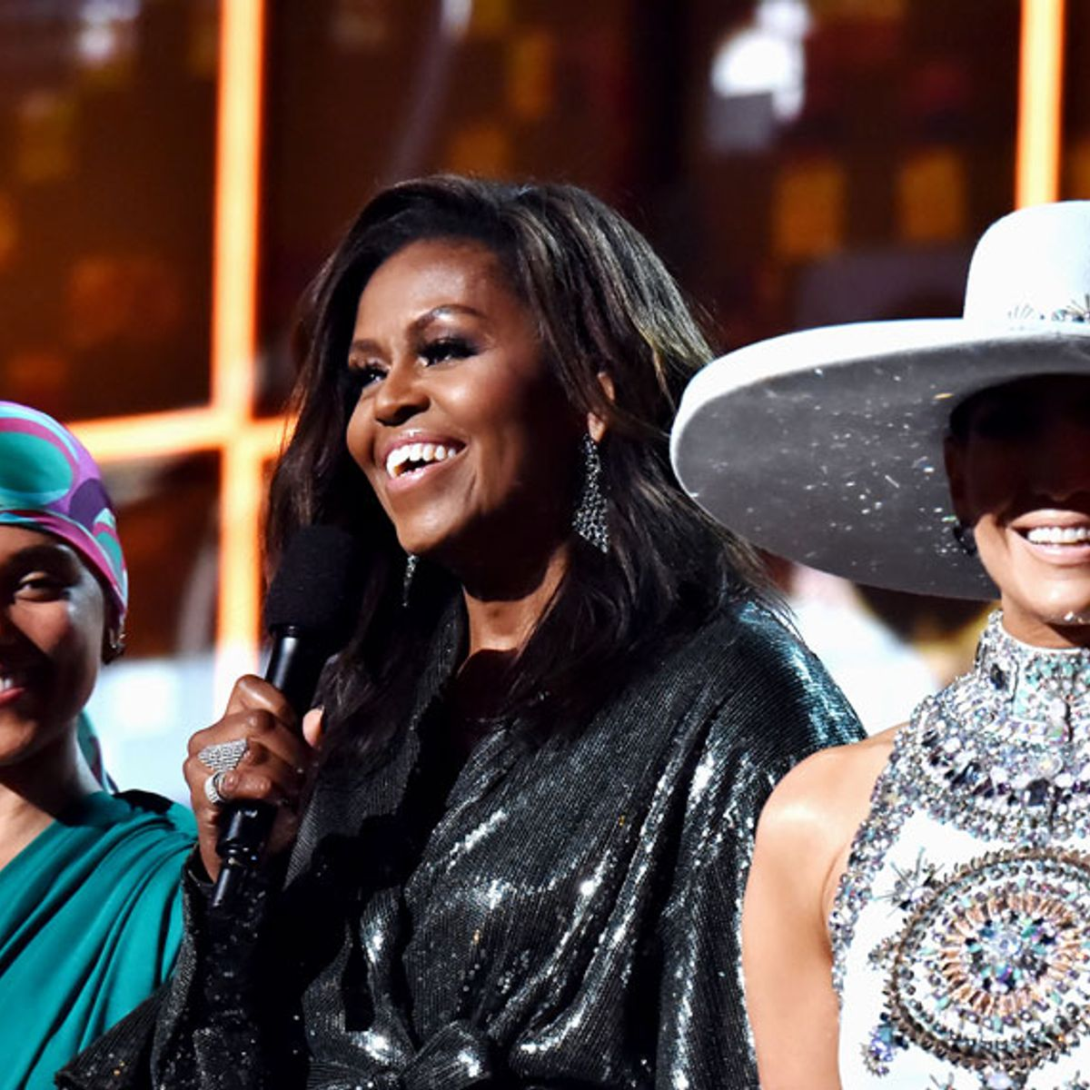 Conservatives and liberals are split over Michelle Obama's Grammy victory