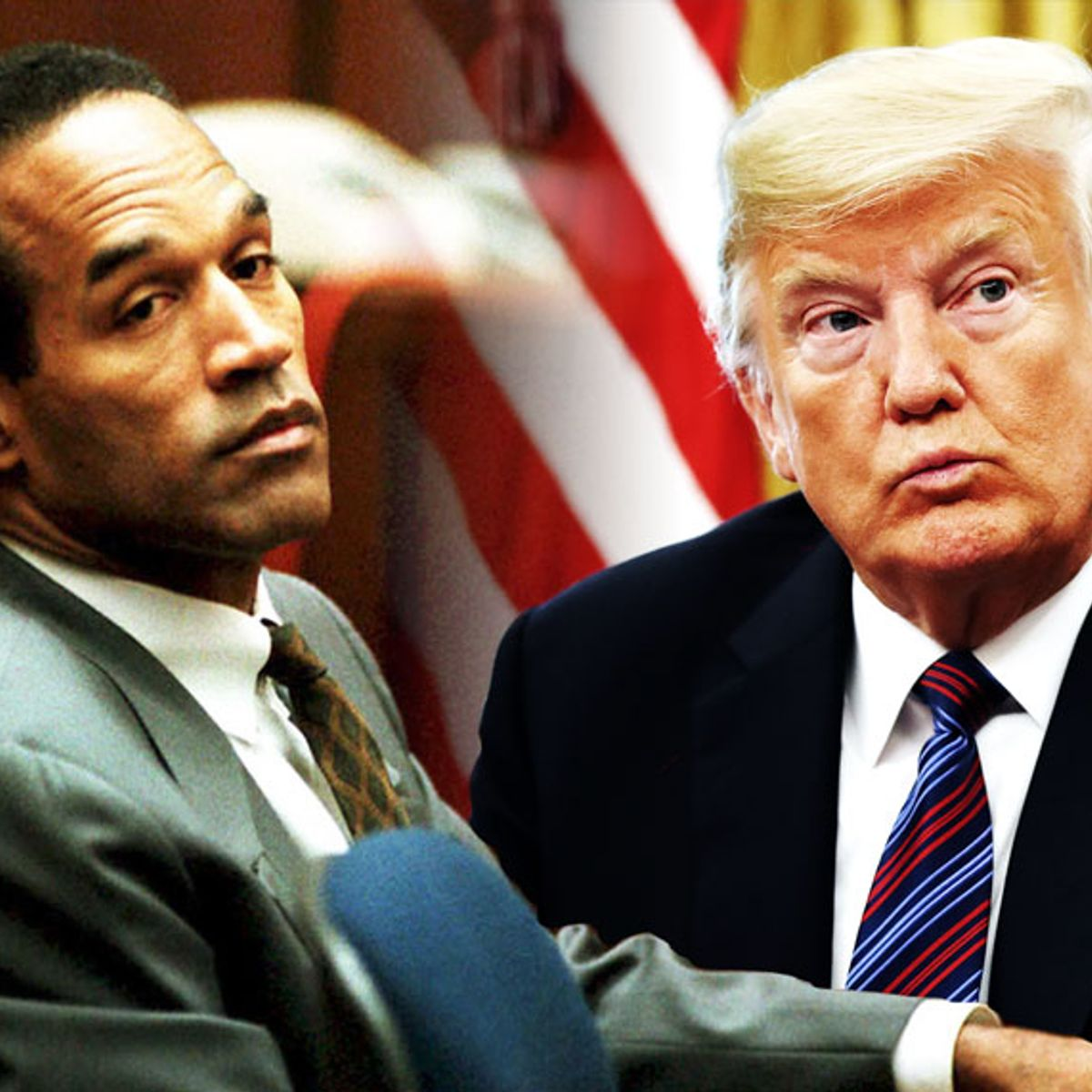 Donald Trump is the O.J. of American politics — and we know how that story ends