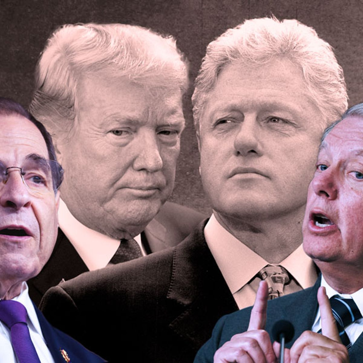 Jerry Nadler uses Lindsey Graham's past words about the Clinton trial to contradict key GOP claim