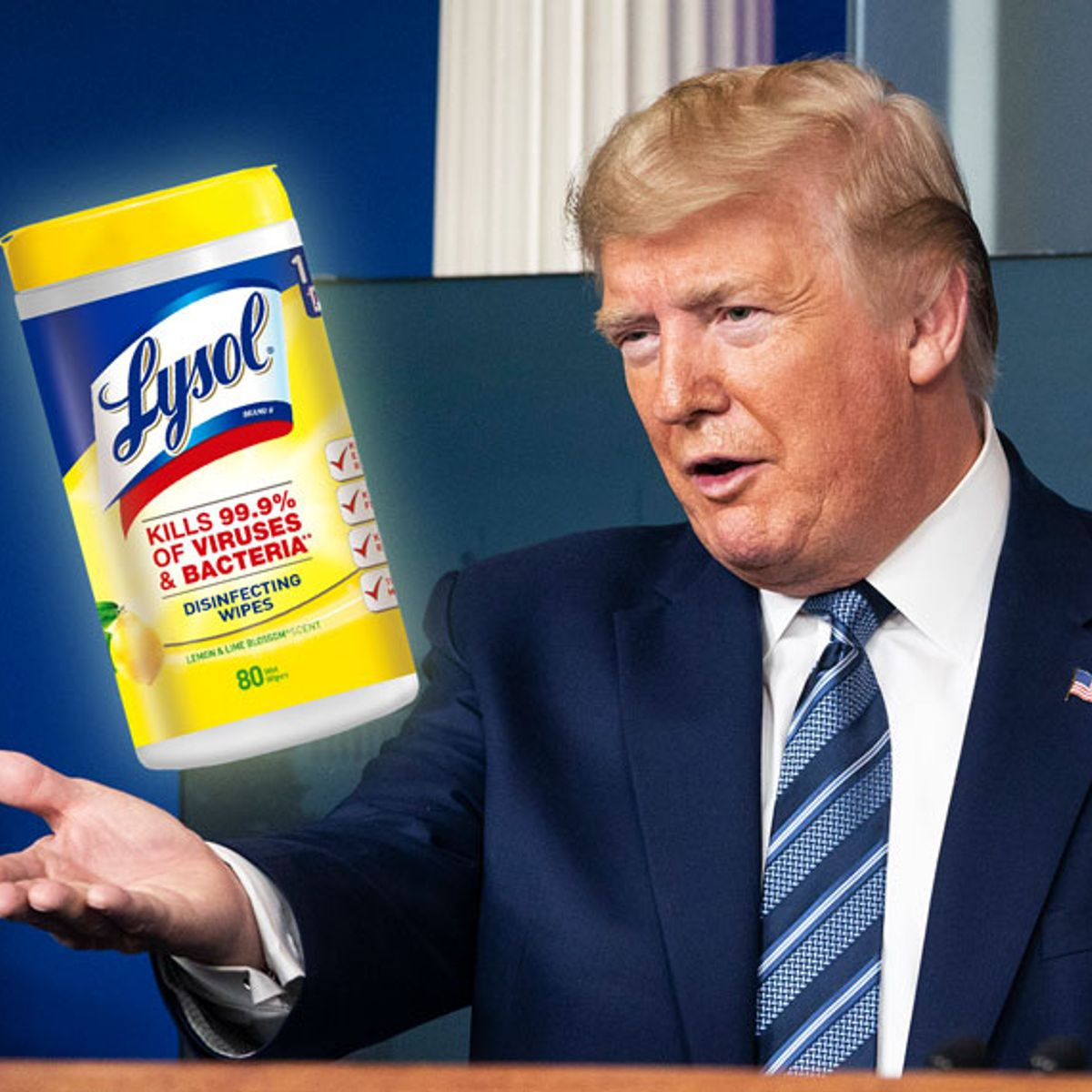 Trump admin. warns Americans not to inject disinfectant after ...