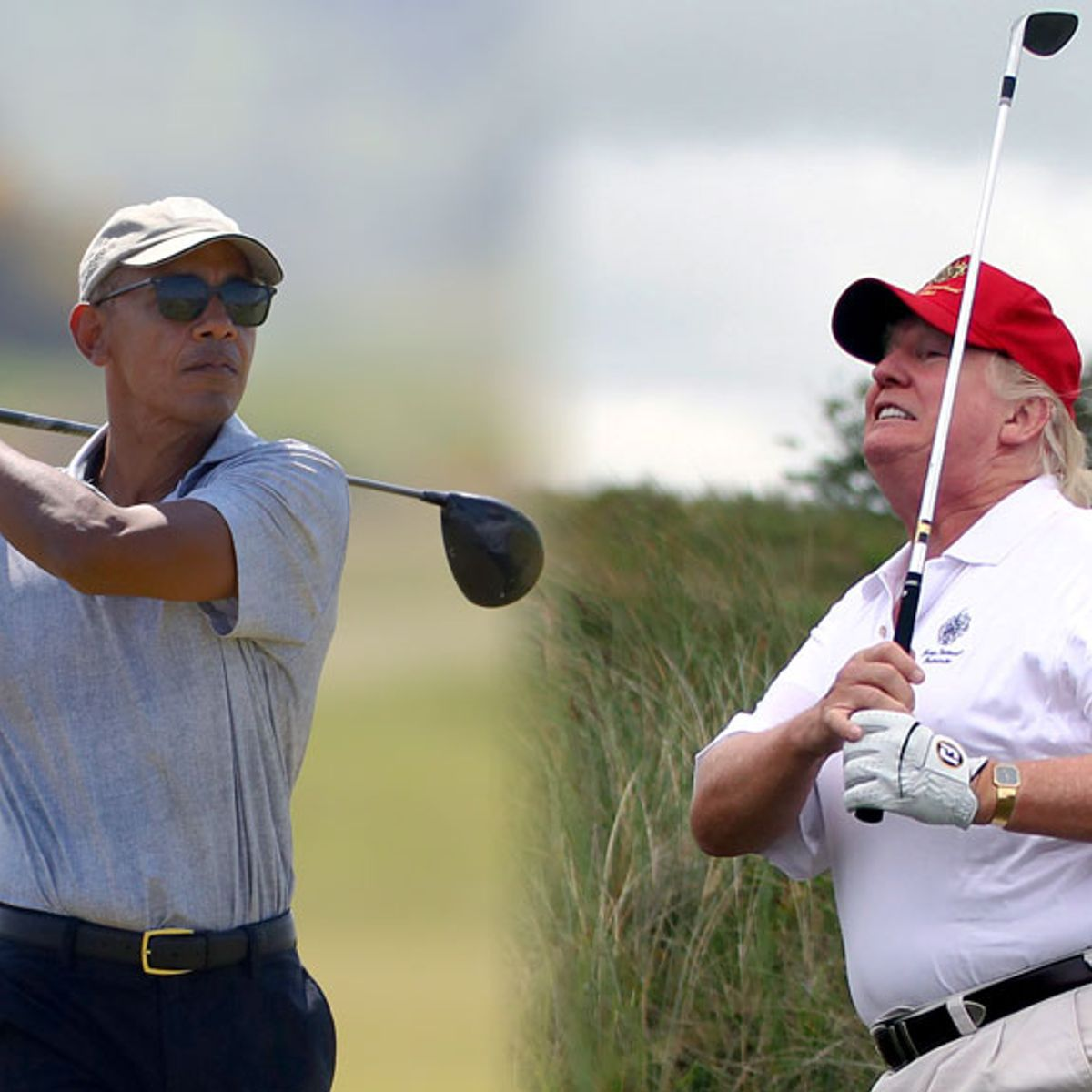 Trump Falsely Claims That He Golfs Less Than Obama During 276th Golf Course Outing As President Salon Com