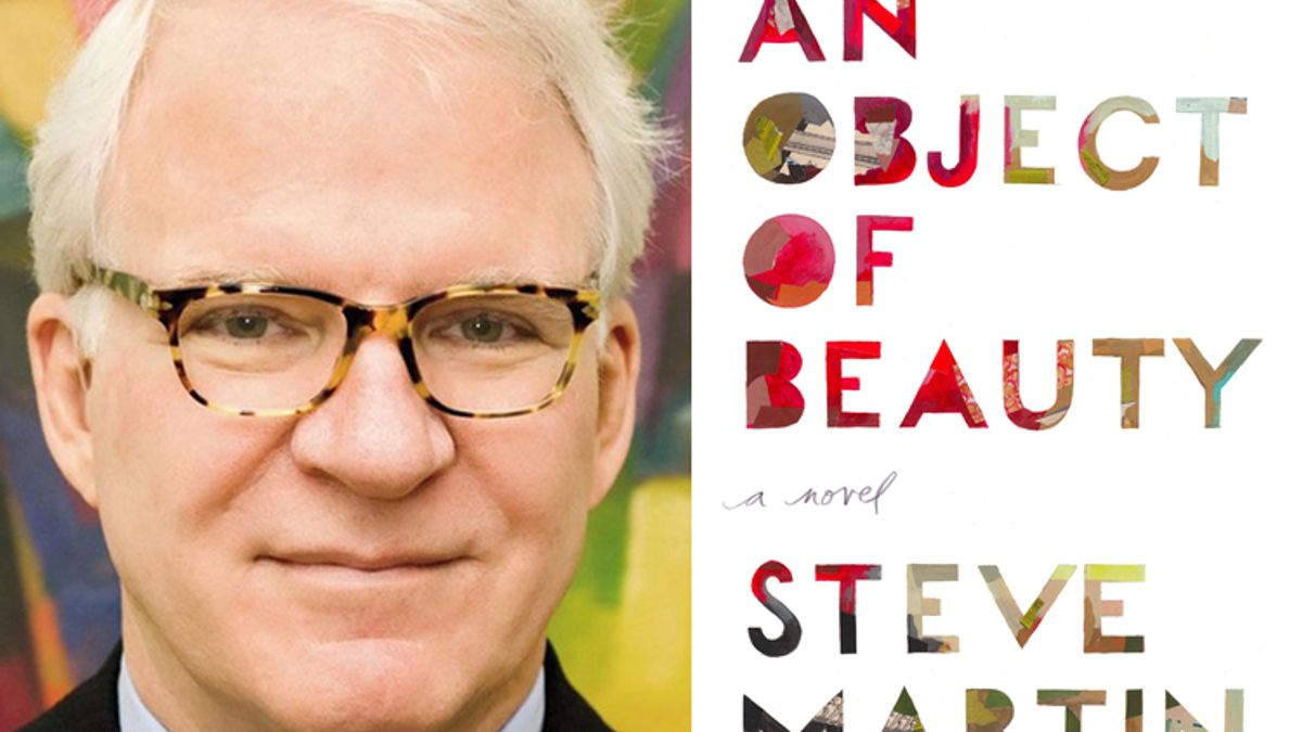 Steve Martin brings his funny to bear on the contemporary art world.
