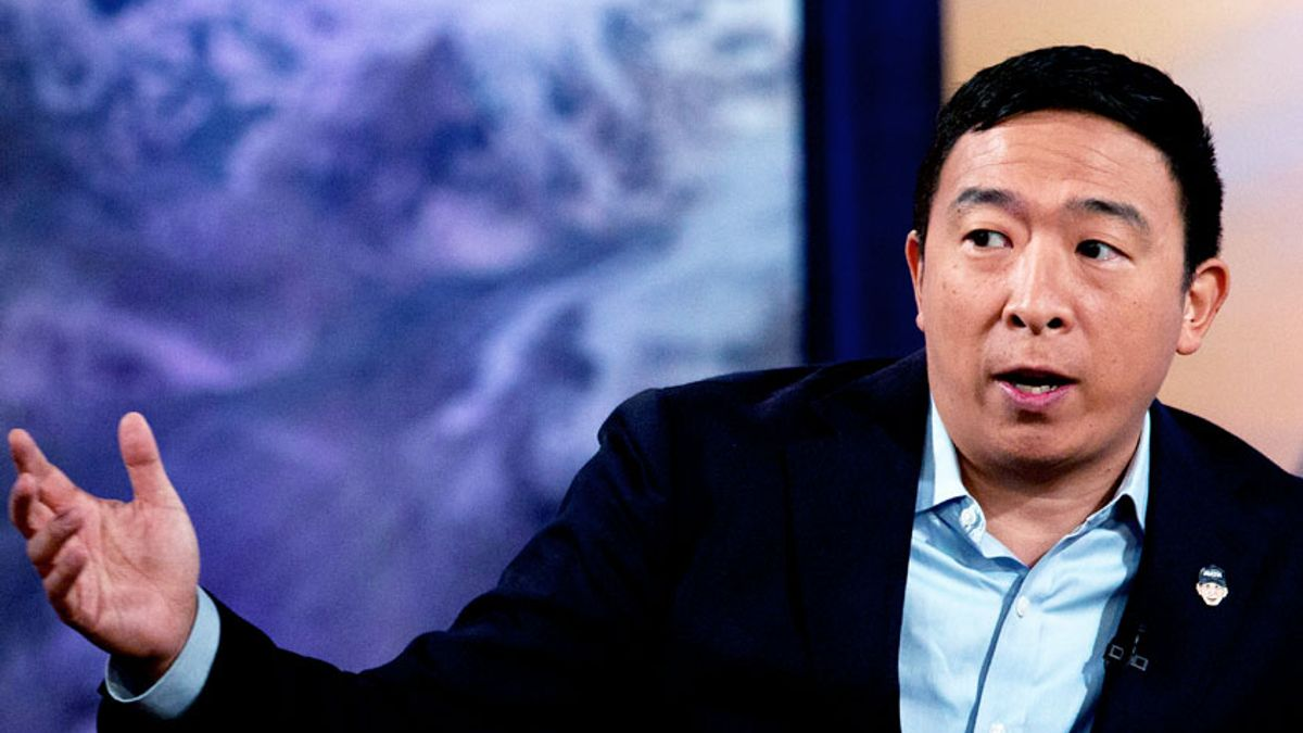 salon.com - Bob Hennelly - Here's a 2020 endorsement: Andrew Yang - but not for president