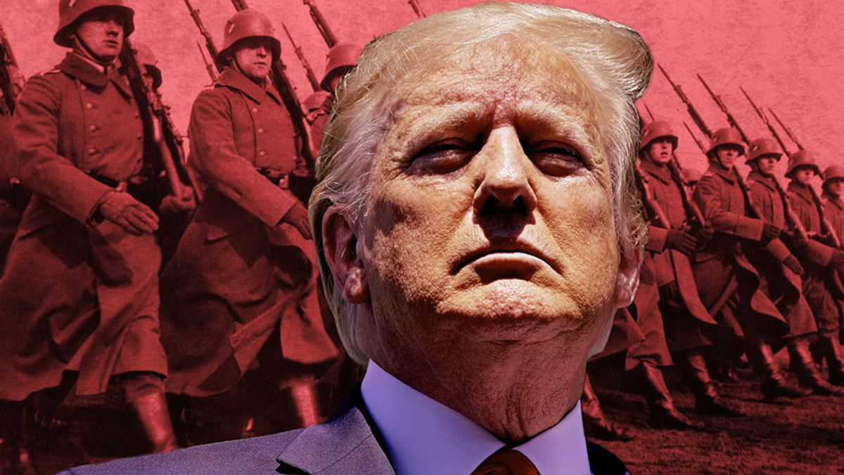 salon.com - Yale R. Magrass - In extreme crises, conservatism can turn to fascism. Here's how that might play out