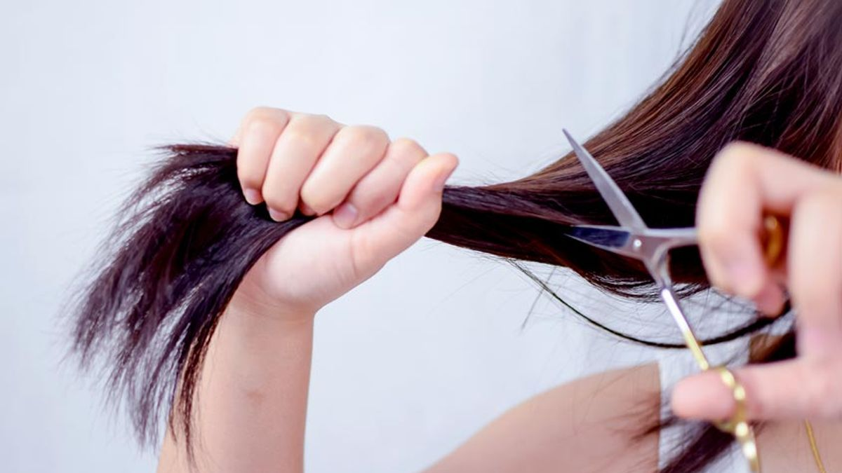 Cutting Your Own Hair Doesn T Have To Be Sheer Terror Here Are Tips From The Pros Salon Com