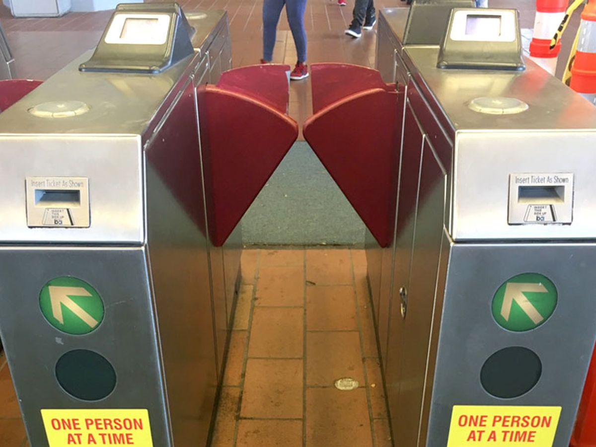 Bay Area Rapid Transit Installs Chrome Blades On Fare Gates To Stop Evaders Salon Com