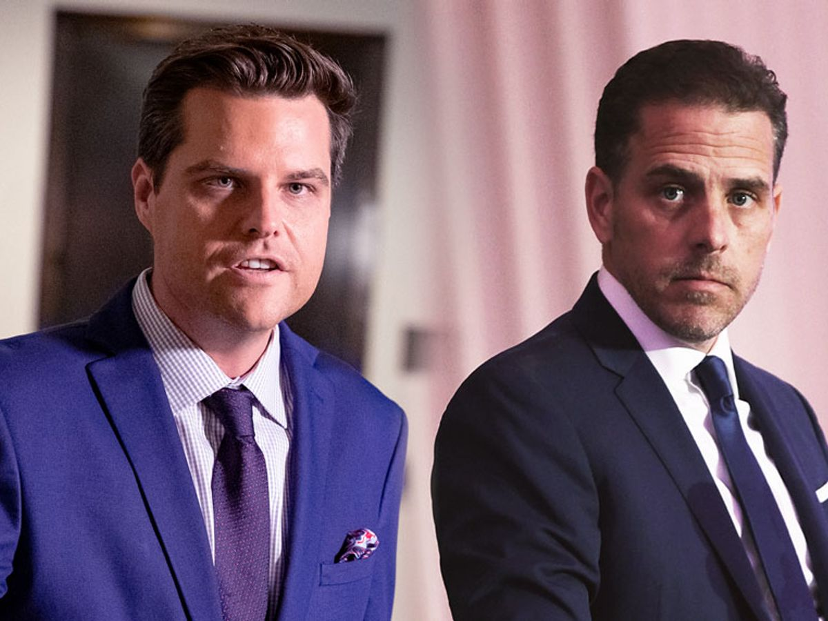 Matt Gaetz Called Out For Hypocrisy And His Own Dui After Trying To Discredit Hunter Biden Salon Com