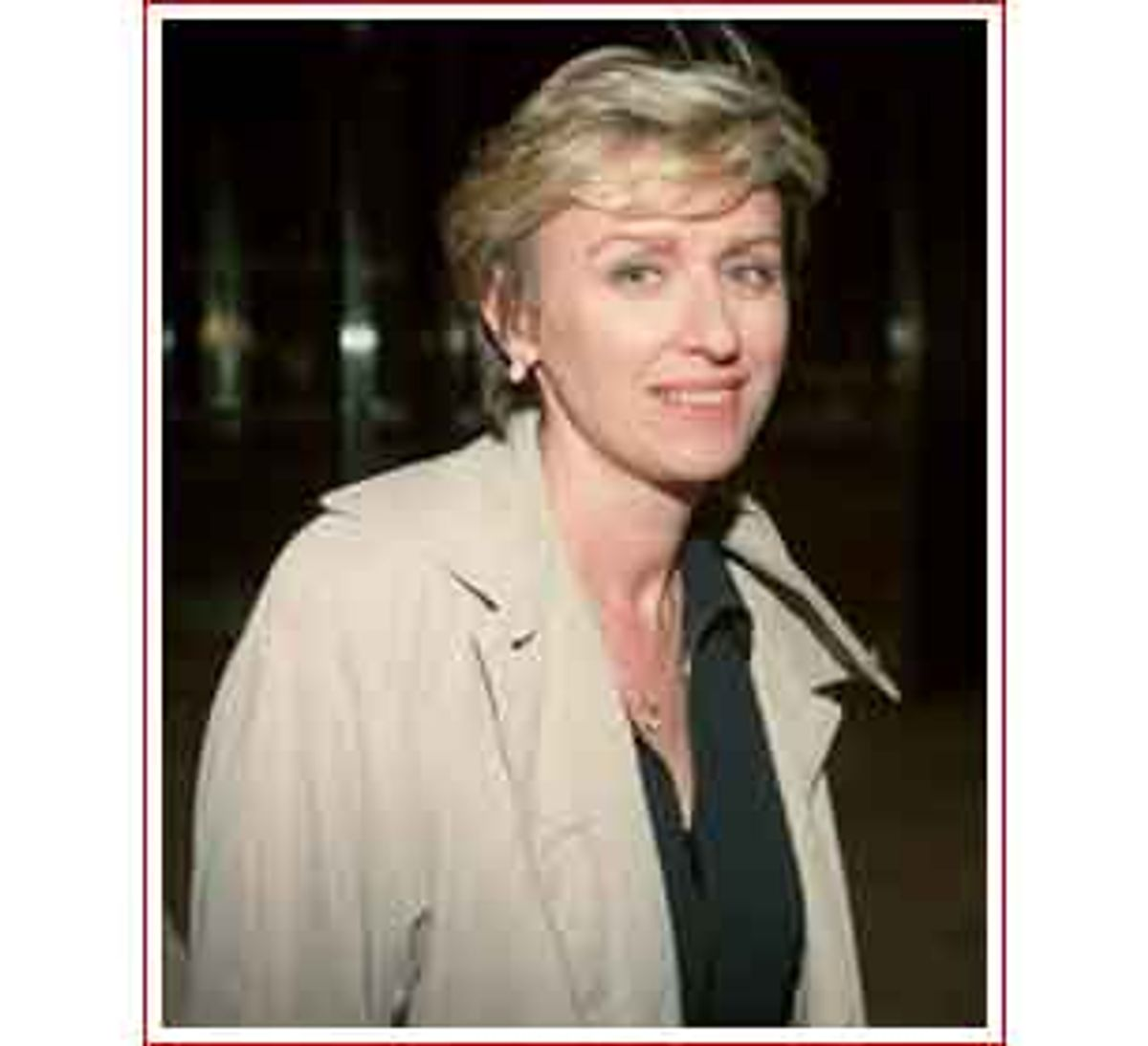 Tina Brown, Oxford-educated former Londoner and former Editor of New Yorker magazine, leaves the Four Seasons Hotel in New York Wednesday, July 8, 1998. Brown resigned her position at the New Yorker Wednesday to lead a film, TV and publishing partnership with Miramax Films. In six years as The New Yorker's editor, Brown reshaped what some considered a dusty anachronism with punchier articles, splashy photographs, and extensive coverage of politics and popular culture. (AP Photo/Leo Sorel) (Associated Press)