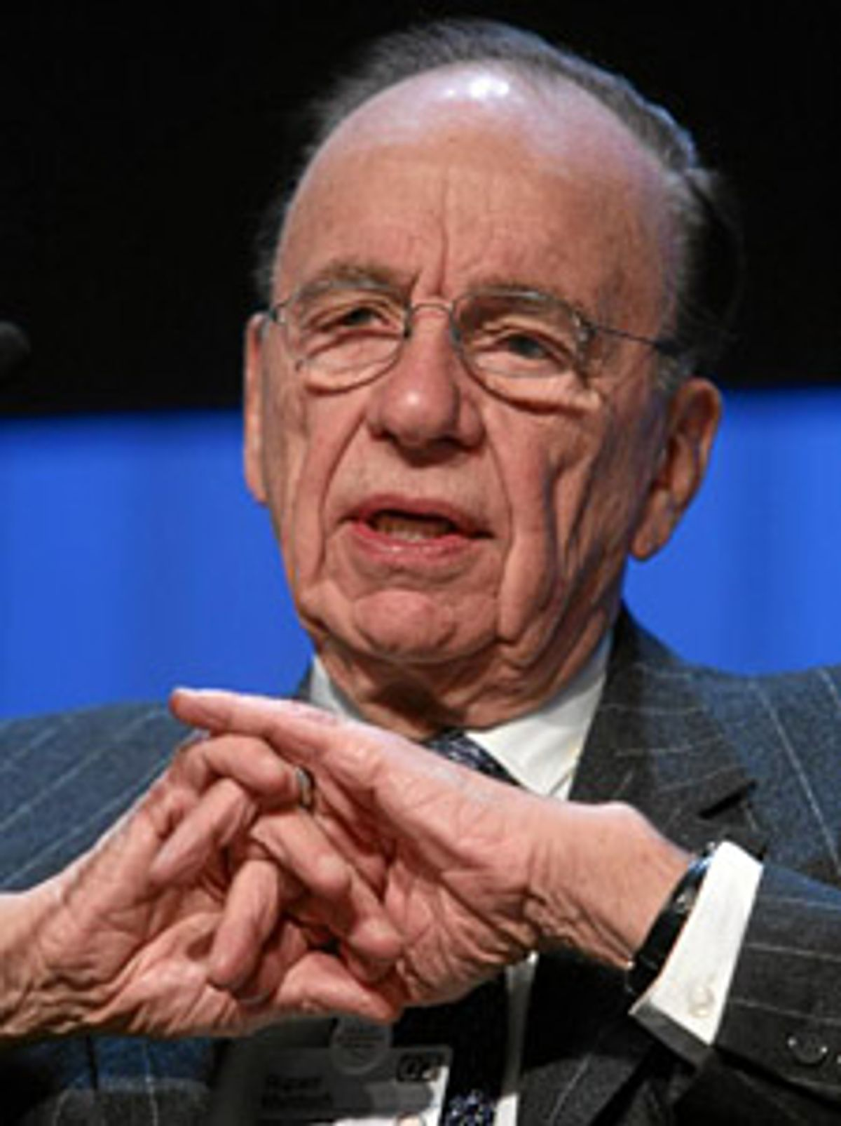 Session 107 Rupert Murdoch  Copyright by World Economic Forum    swiss-image.ch/Photo by     +++No resale, no archive+++