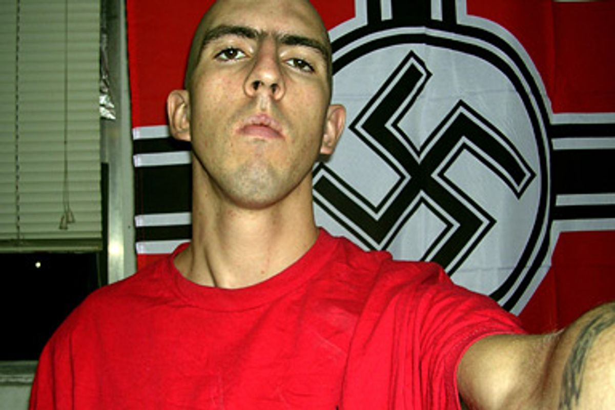 White supremacist James Douglas Ross was a military intelligence officer in Iraq.