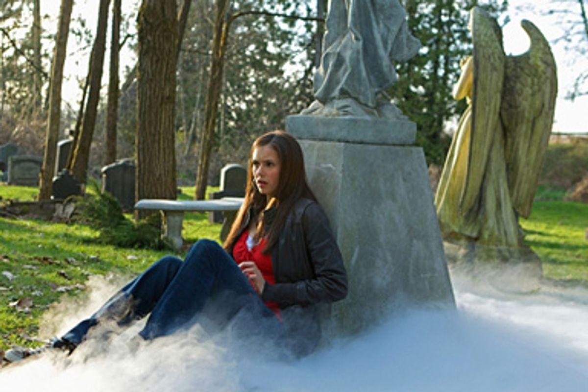 """Nina Dobrev in """"The Vampire Diaries."""""""