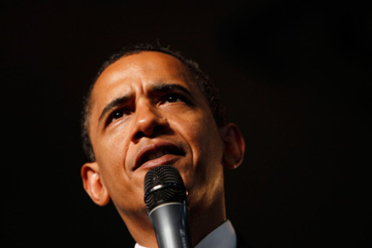 President Barack Obama conducts a town hall meeting on health care reform, Thursday, June 11, 2009, at Southwest High School in Green Bay, Wis.