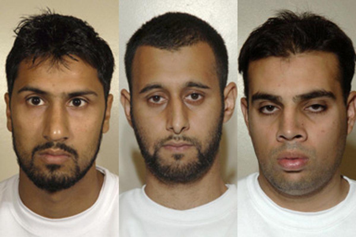 L-R: Abdulla Ahmed Ali, Tanvir Hussain and Assad Sarwar