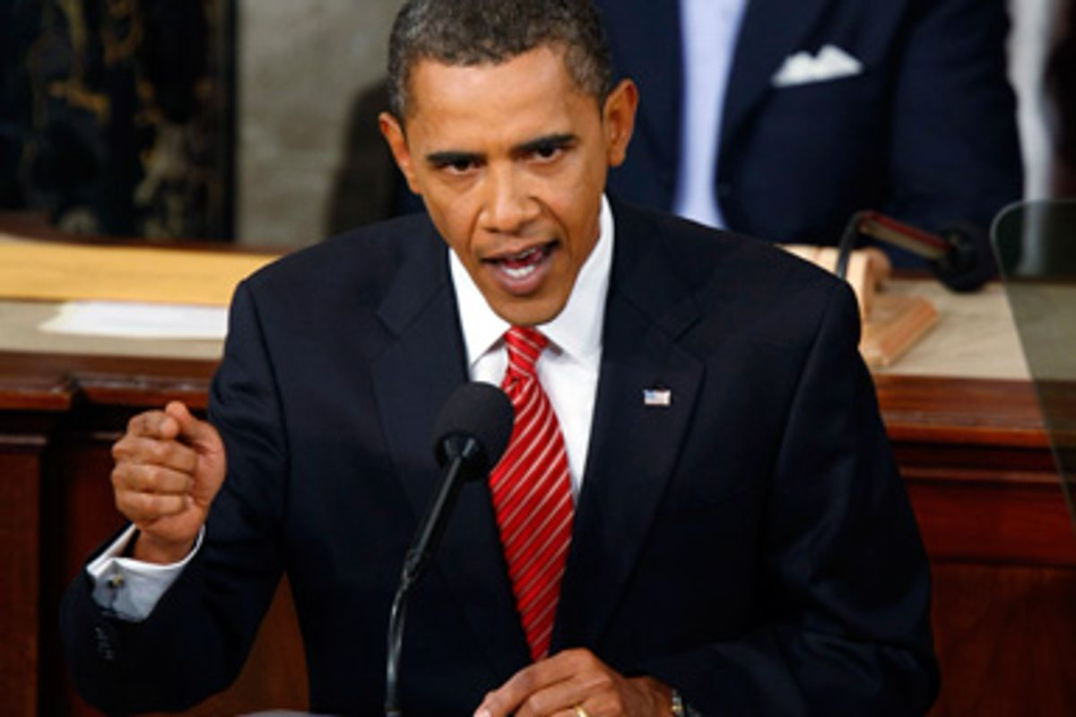 U.S. President Barack Obama delivers a speech on healthcare before a joint session of Congress, in Washington, September 9, 2009.