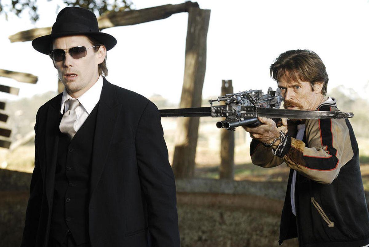 Edward Dalton (Ethan Hawke) and Lionel Cormac (Willem Dafoe)