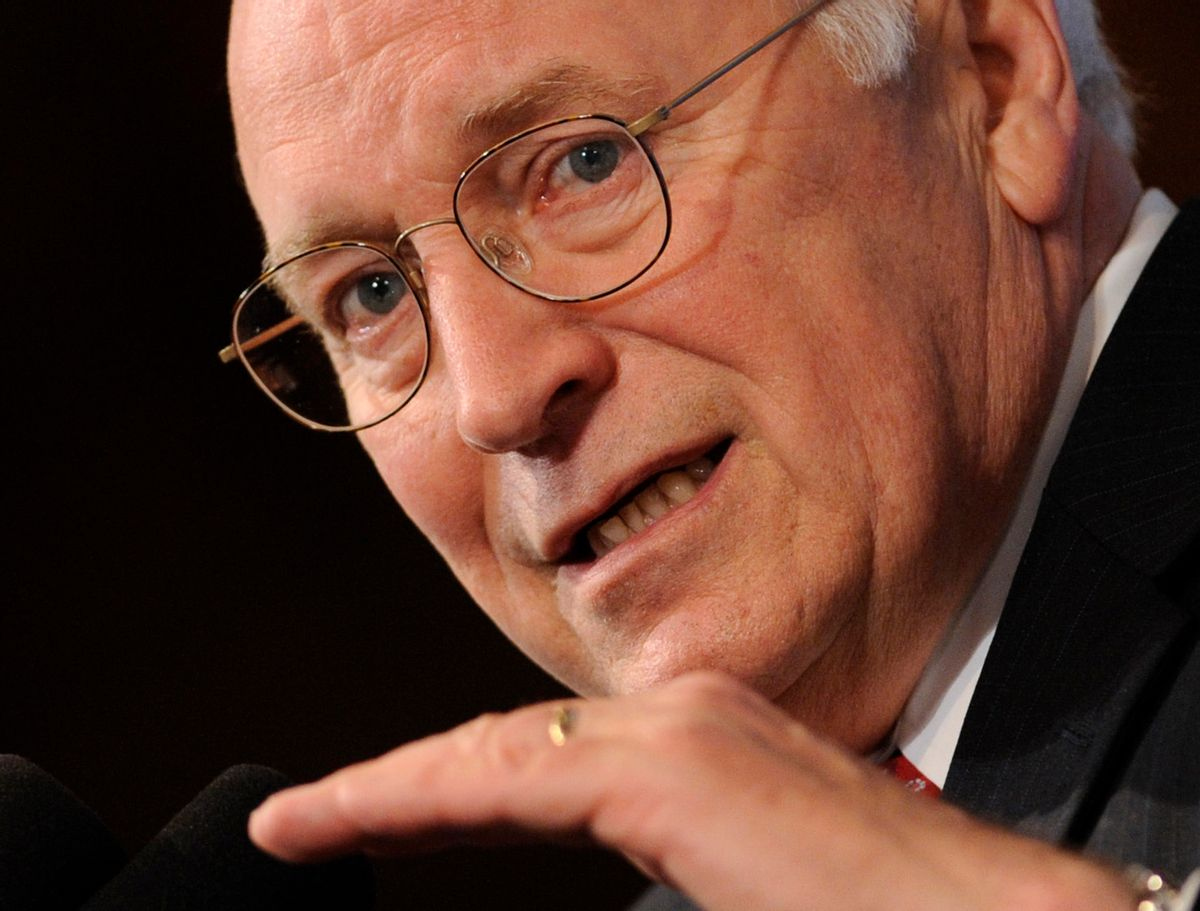 FILE -- In this June 1, 2009 file photo, former Vice President Dick Cheney speaks at the National Press Club in Washington.   (AP Photo/Susan Walsh, File) (Associated Press)