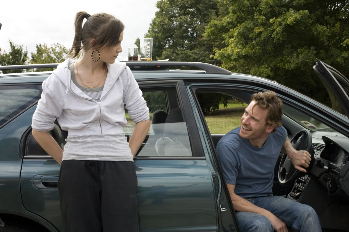 """Katie Jarvis and Michael Fassbender in """"Fish Tank."""""""