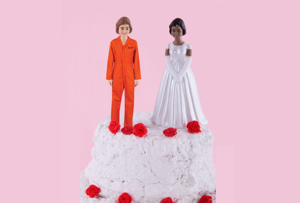 two brides at a lesbian wedding day