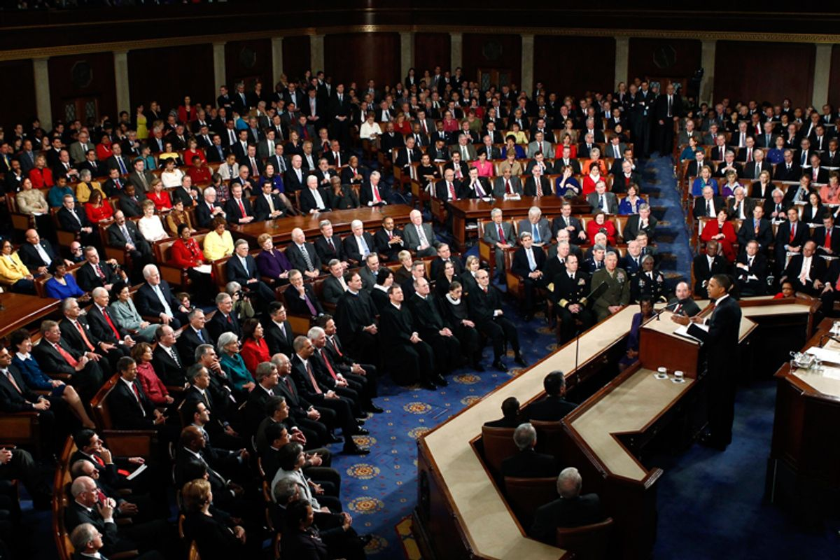 President Obama delivers the State of the Union speech Wednesday.