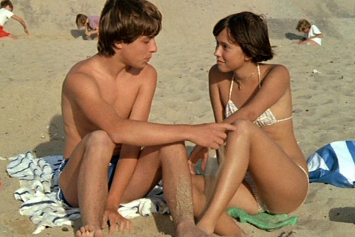 """A still from """"Pauline at the Beach"""""""