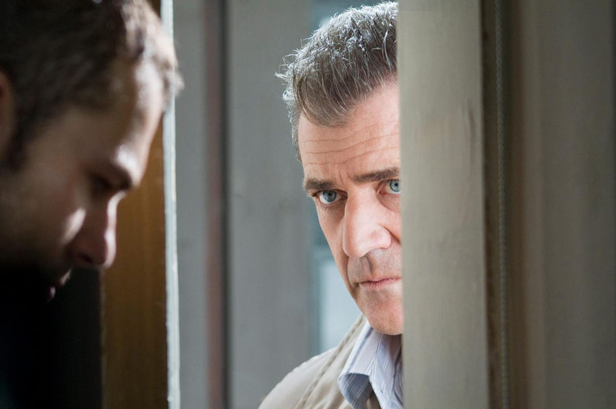 """Shawn Roberts and  Mel Gibson in """"Edge of Darkness."""""""
