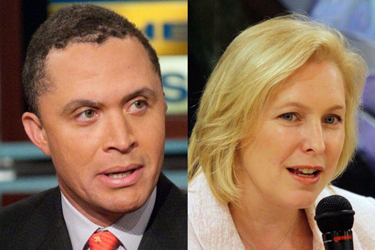 Harold Ford Jr., and Sen. Kirsten Gillibrand, D-NY