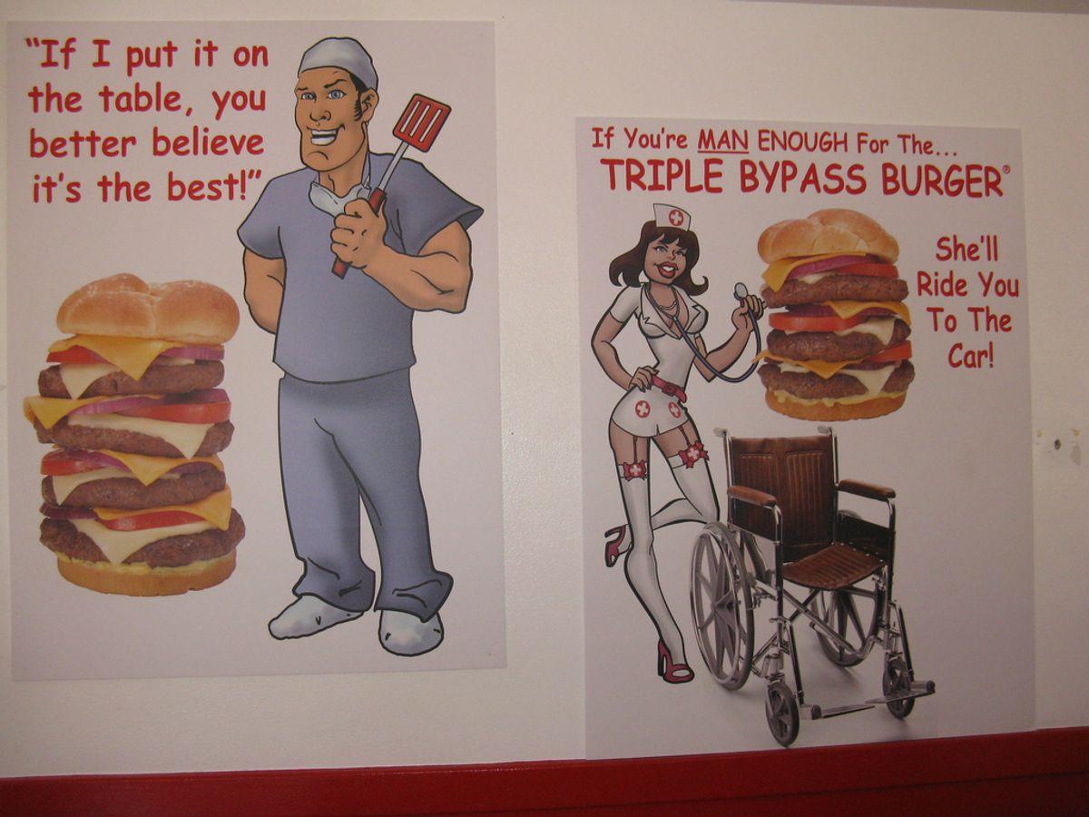 Signage at Arizona's Heart Attack Grill