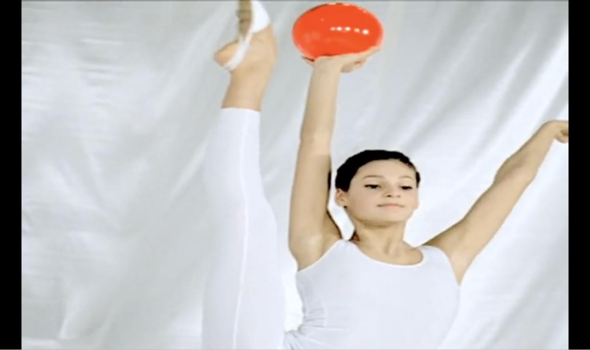 Kotex commercial screen shot