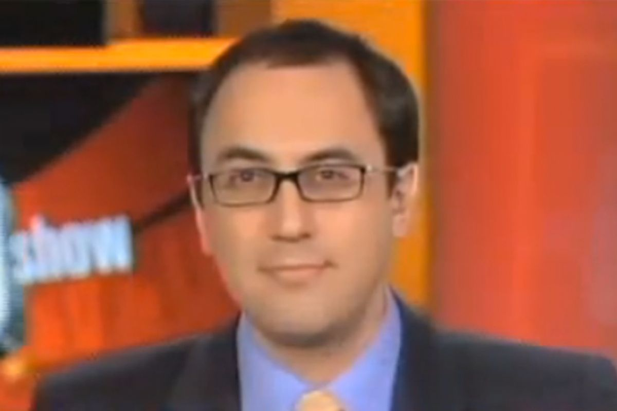 """Adam Green from the Progressive Change Campaign Committee on MSNBC's """"Ed Show"""" last December."""