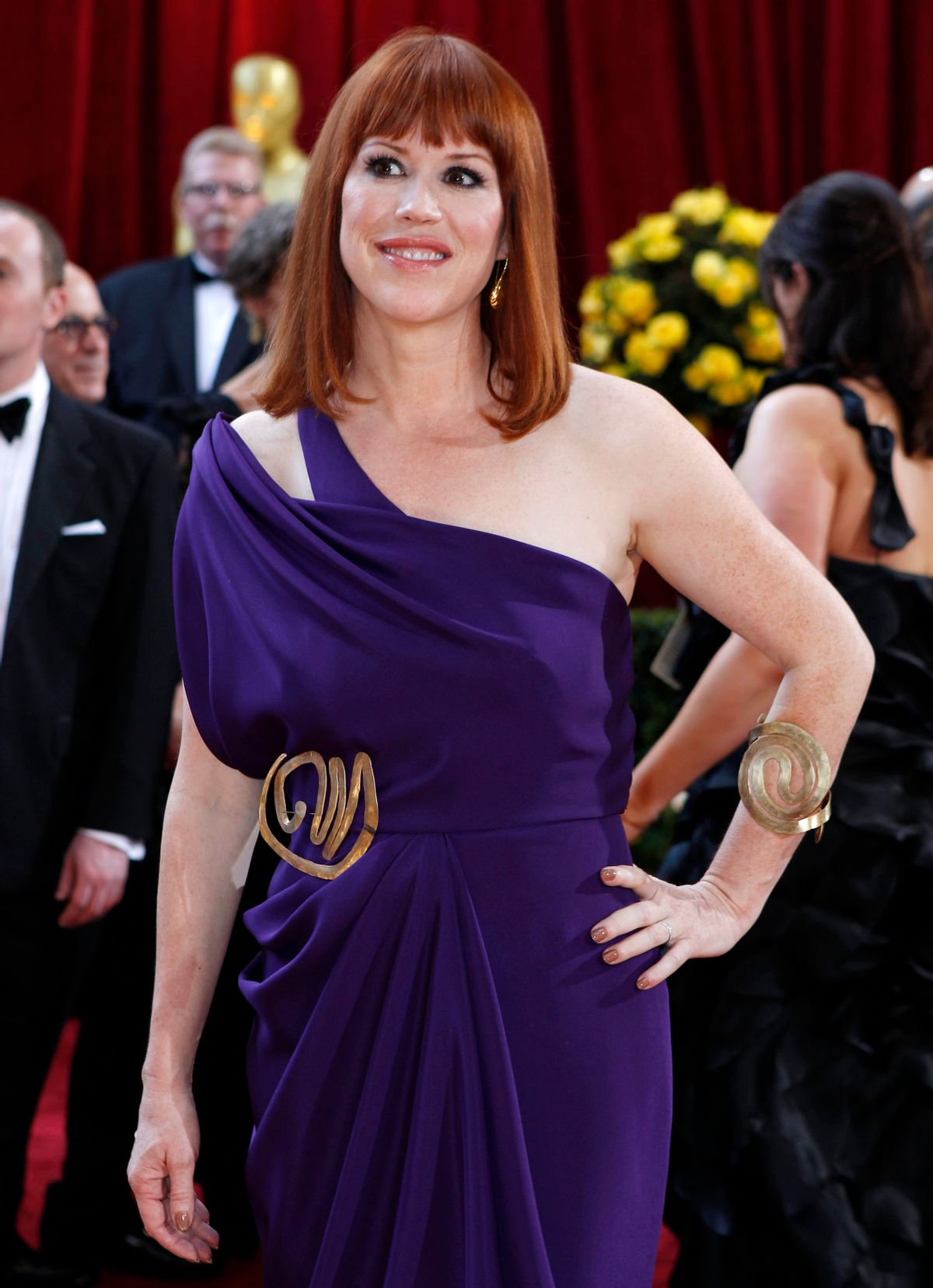 Actress Molly Ringwald arrives at the 82nd Academy Awards in Hollywood March 7, 2010.   REUTERS/Lucas Jackson   (UNITED STATES)   (OSCARS-ARRIVALS - Tags: ENTERTAINMENT)     (Reuters)