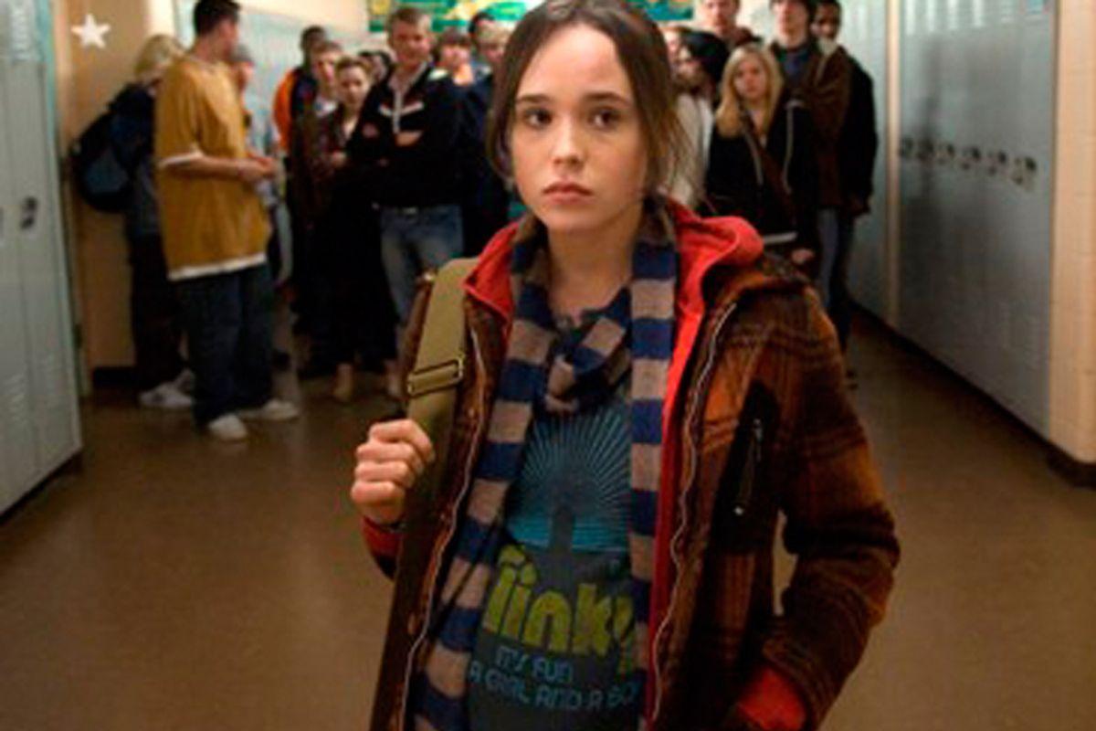 """Ellen Page in """"Juno."""""""