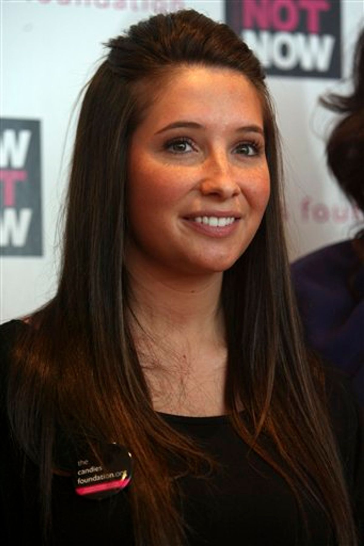 **FILE**  This Wednesday, May 6, 2009 file photo shows Bristol Palin, daughter of Alaska Gov. Sarah Palin, as she poses for photographers on the red carpet during an event to promote National Teen Pregnancy Awareness Day in New York.    (AP Photo/Mary Altaffer, File)    (AP)