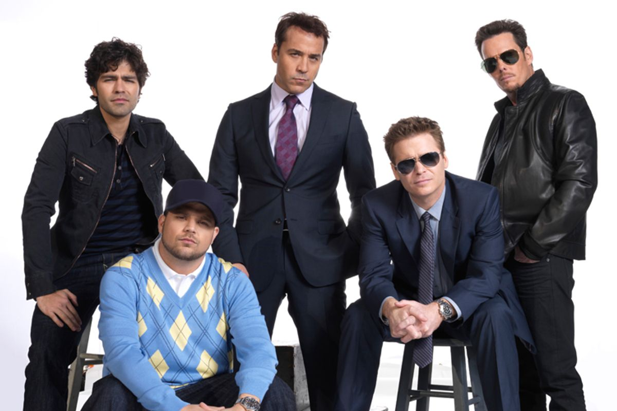 """The cast of HBO's """"Entourage."""""""