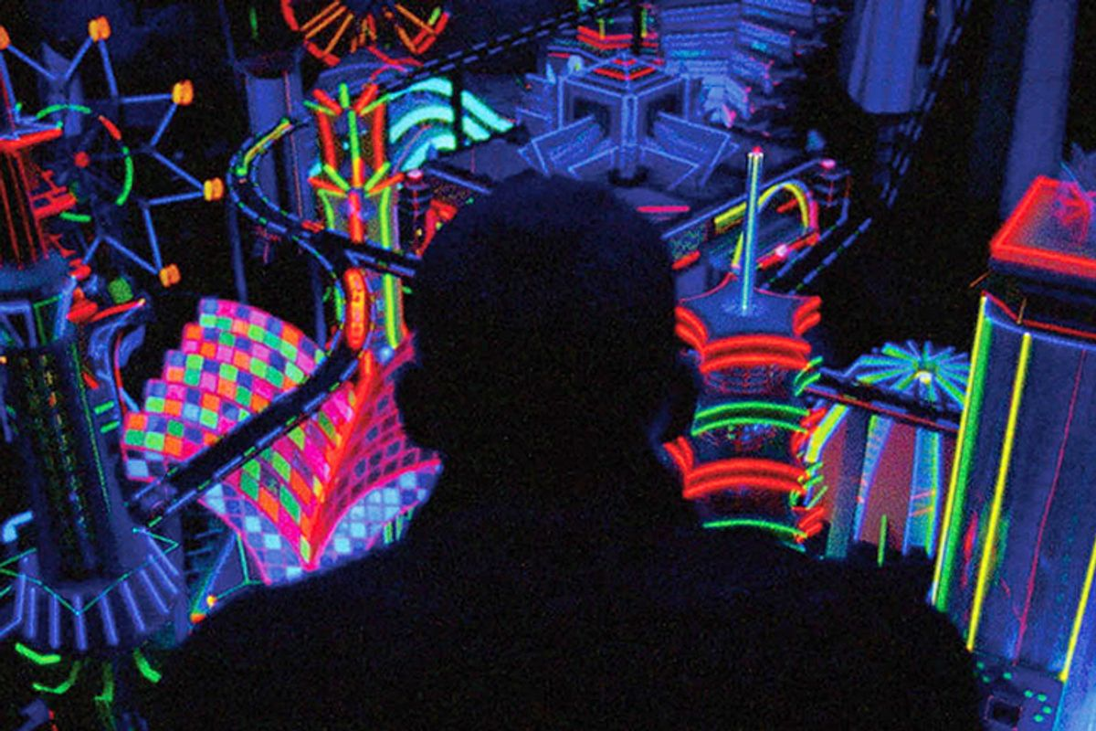 """A still from """"Enter the Void"""""""